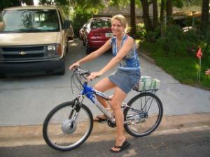 Sepeda Listrik buat cewe