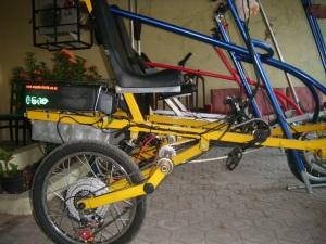 Quadbike berlistrik