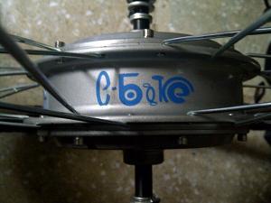 Kit 500 W stiker biru